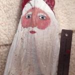 Driftwood Santa Faces - Product Image
