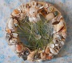 Summer Wreath - Seashell - Product Image