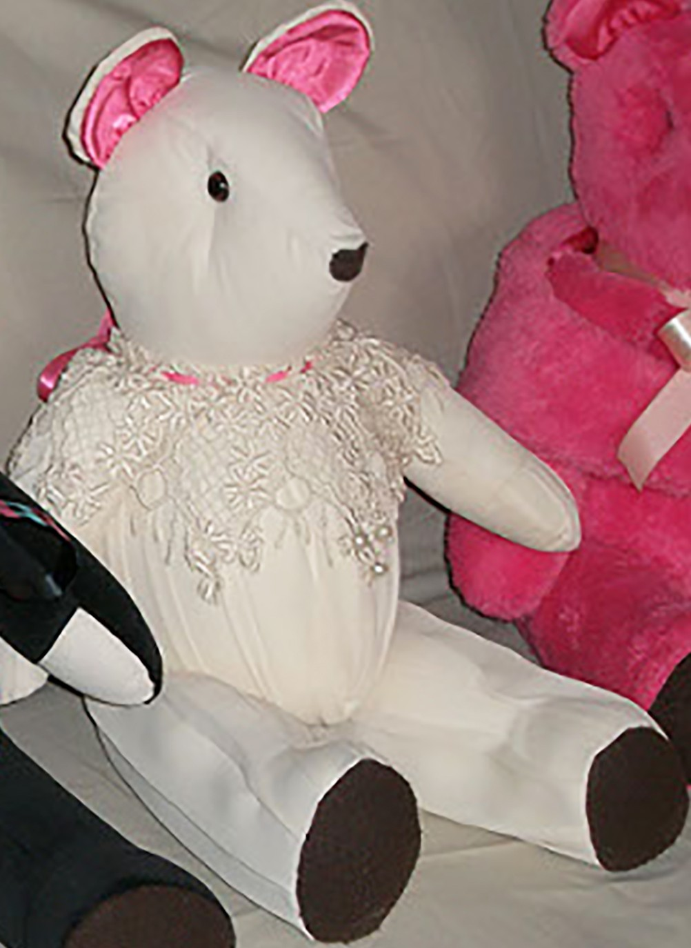 "Wedding Bear - 14"" - Product Image"