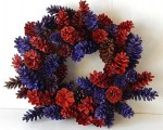 Winter Wreath - Pinecone - Product Image