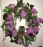 Spring Wreath - Grapevine with Owl - Product Image