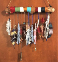 Feathered Wind Catchers - Product Image
