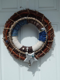 Fiber and Texture Wreath - Grapevine - Product Image