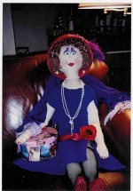 """Large Cloth Doll - 42"""" - Product Image"""