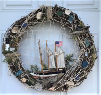 Ship Wrecked Wreath - Product Image