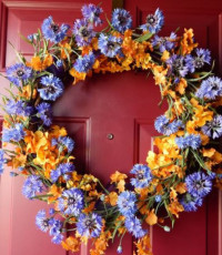 Summer Beauty Wreath - Grapevine - Product Image